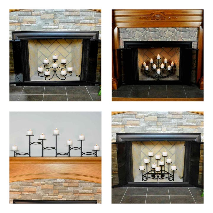 fireplace-candelabras