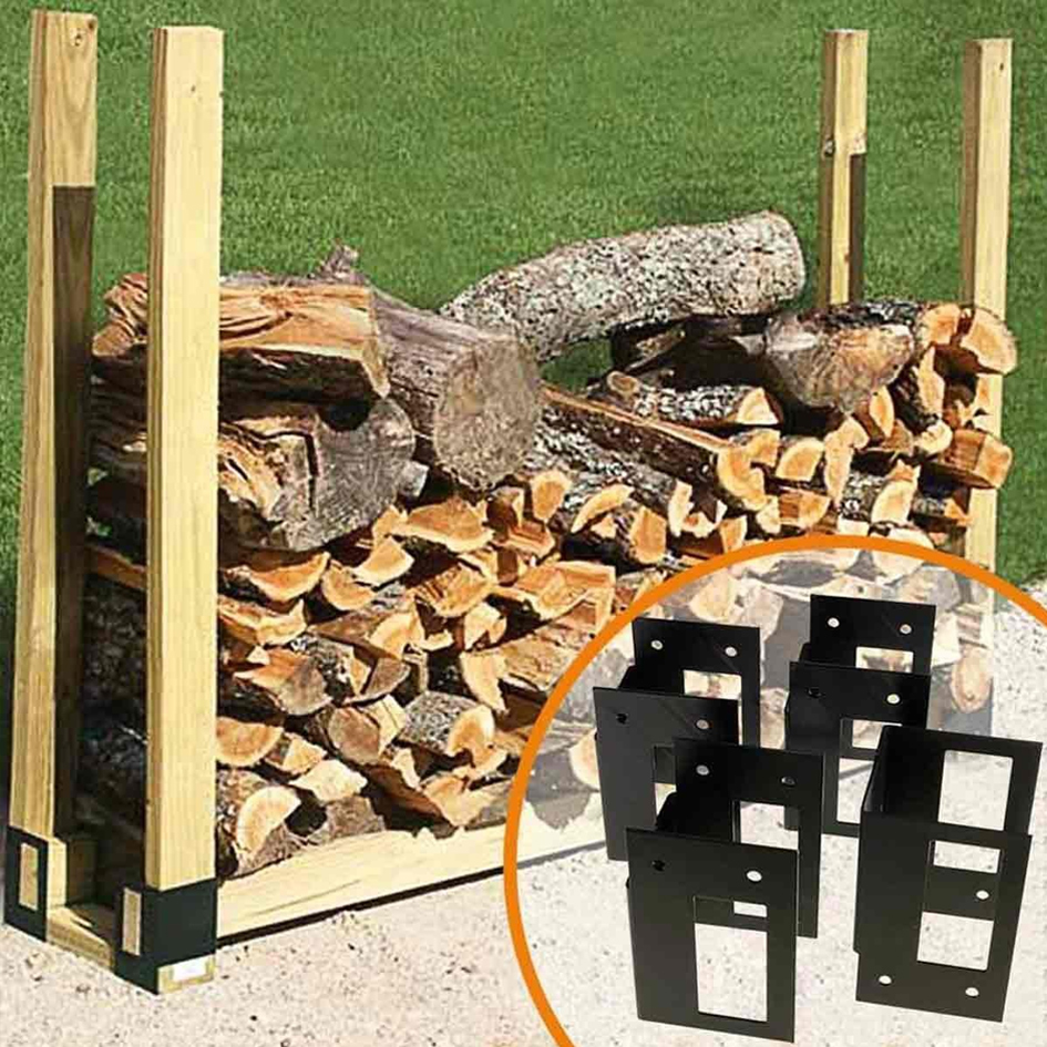 Create Your Own Cost Effective Diy Firewood Rack With