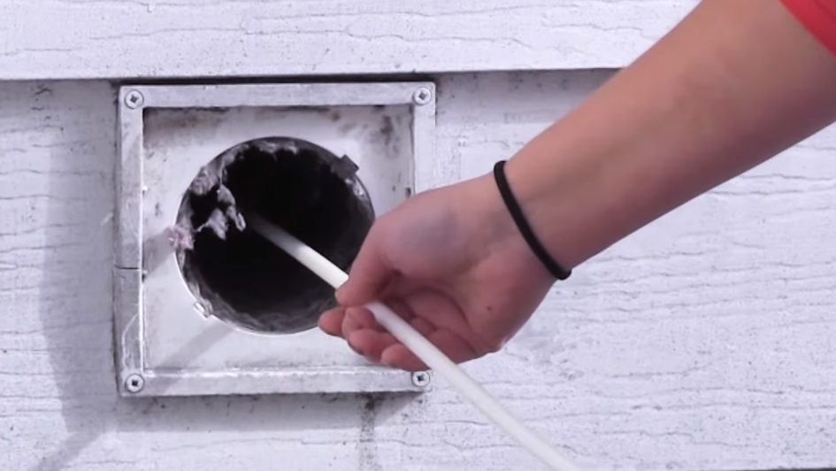 How To Clean A Dryer Vent Using The Linteater Rotary